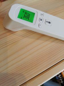 非接触体温計