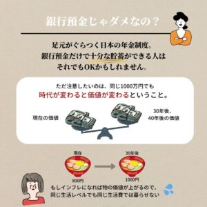 iDeCoと銀行預金
